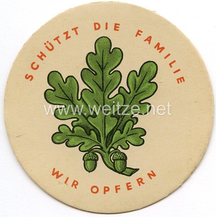 WHW - 1. Winterhilfswerk des Deutschen Volkes 1933/34 - Türplakette für Januar 1934