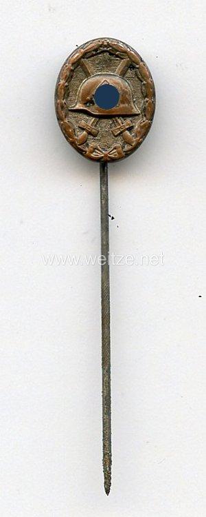 Verwundetenabzeichen in Schwarz 1939 - Miniatur