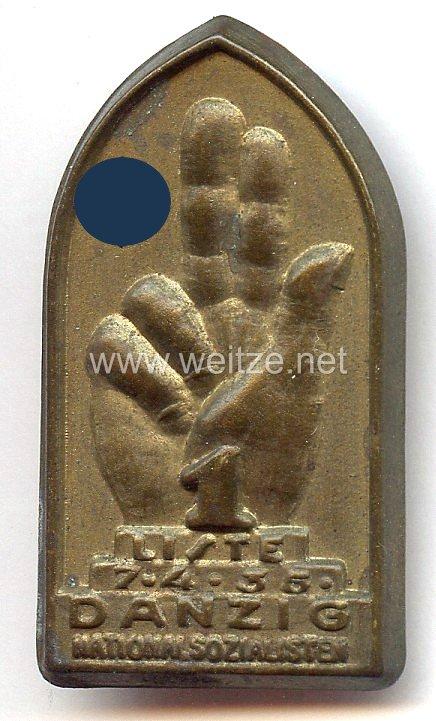 III. Reich - Liste 1 Danzig Nationalsozialisten 7.4.1935