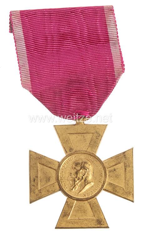 Bayern Luitpoldkreuz für 40 Dienstjahre im Staats- u. Gemeindedienst 1911-1918 .