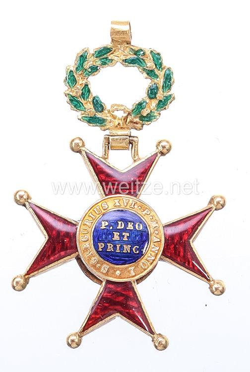 Vatikan St. Gregorius-Orden Offiziers/Kommandeurskreuz