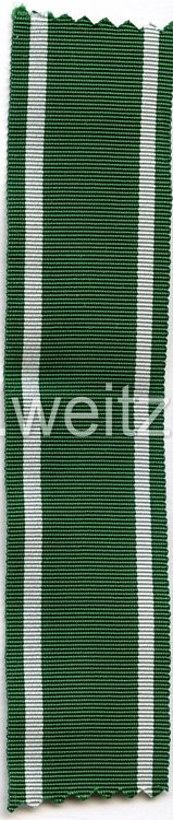 Ordensband Tapferkeits - und Verdienstauszeichnungen für Angehörige der Ostvölker in Silber