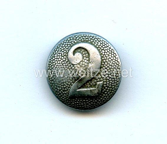 Wehrmacht Einzel Schulterknopf für einen Soldaten der 2. Kompanie
