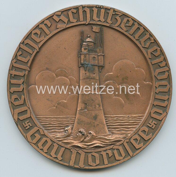 Deutscher Schützenverband im NSRL - Gau Nordsee : große nichttragbare Siegerplakette