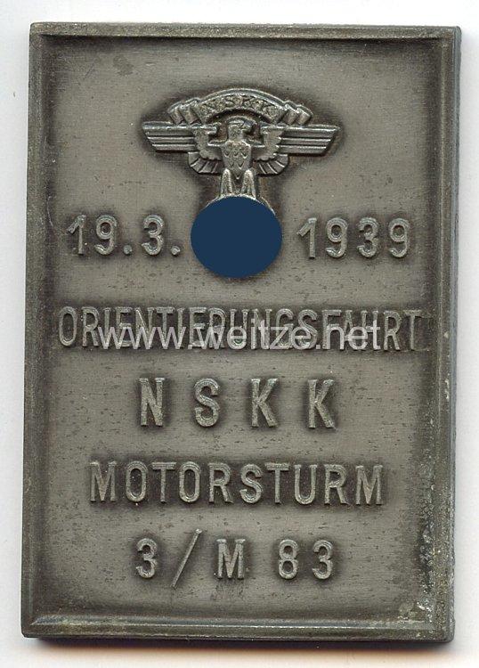 NSKK - nichttragbare Teilnehmerplakette -