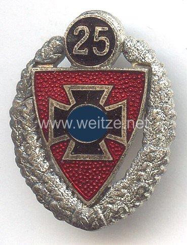 Nationalsozialistischer Reichskriegerbund ( NSRKB ) -Silberne Ehrennadel für 25 jährige Mitgliedschaft