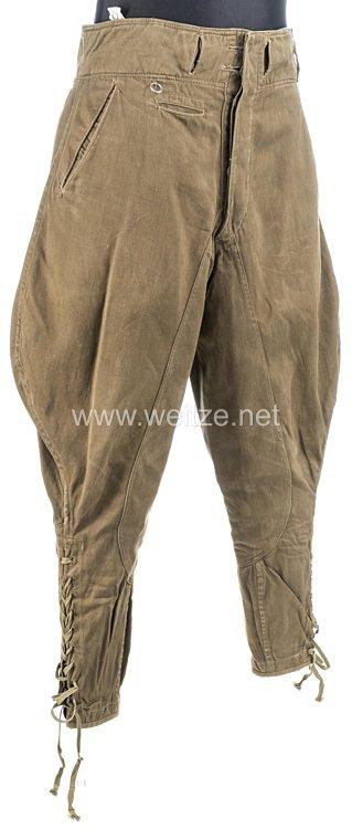 Wehrmacht Afrikakorps Stiefelhose für Mannschaften
