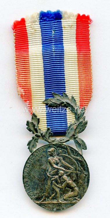 """Frankreich """"Médaille Police Française - Ministère de l'intérieur"""""""