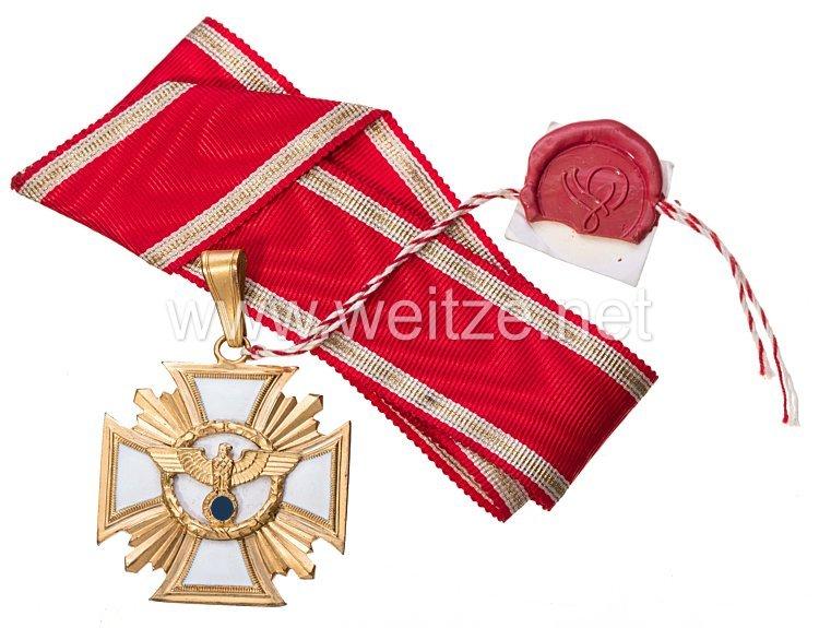 NSDAP Dienstauszeichnung in Gold, Halskreuz