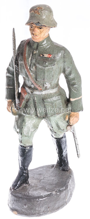 Elastolin - Heer Offizier im Marsch