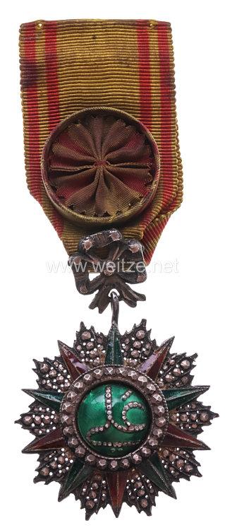 Königreich Tunesien Orden des Ruhmes - Nishan Iftikhar Offizierskreuz