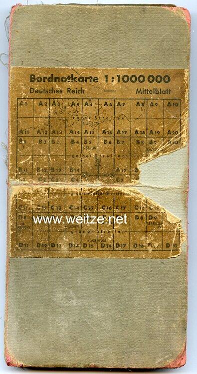 Bordnotkarte - Gebiet Großdeutsches Reich