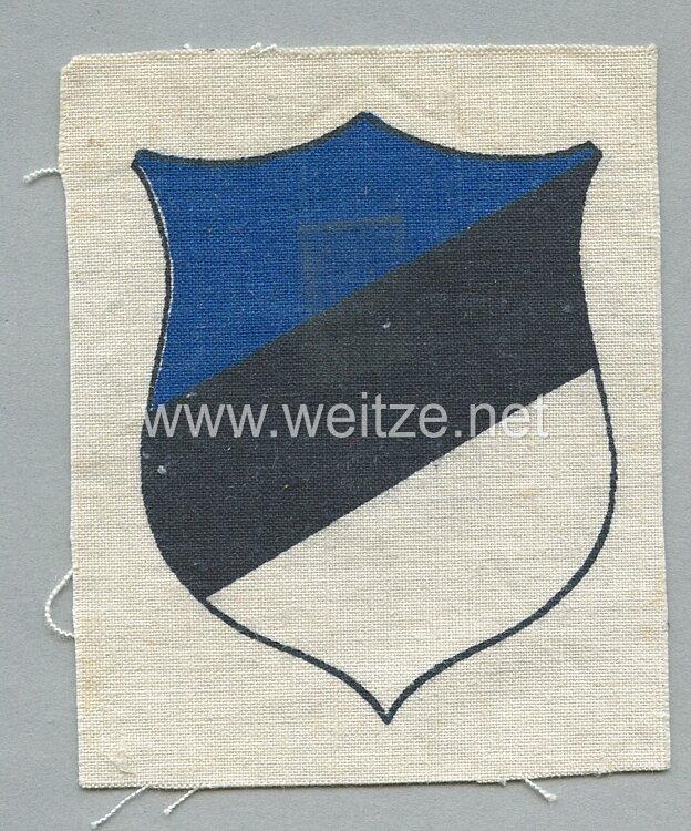 Ärmelschild für Estnische Freiwillige der Wehrmacht oder Polizei