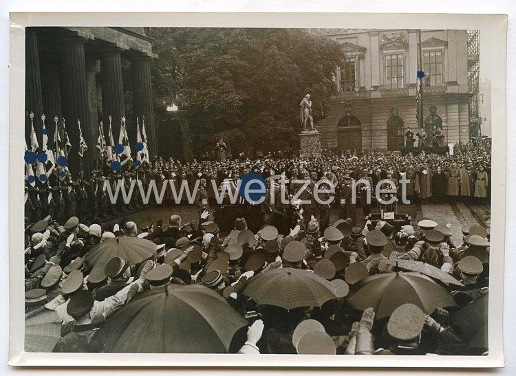 Wehrmacht Pressefoto: Staatsbegräbnis für Generaloberst Freiherrn v. Fritsch 26.9.1939
