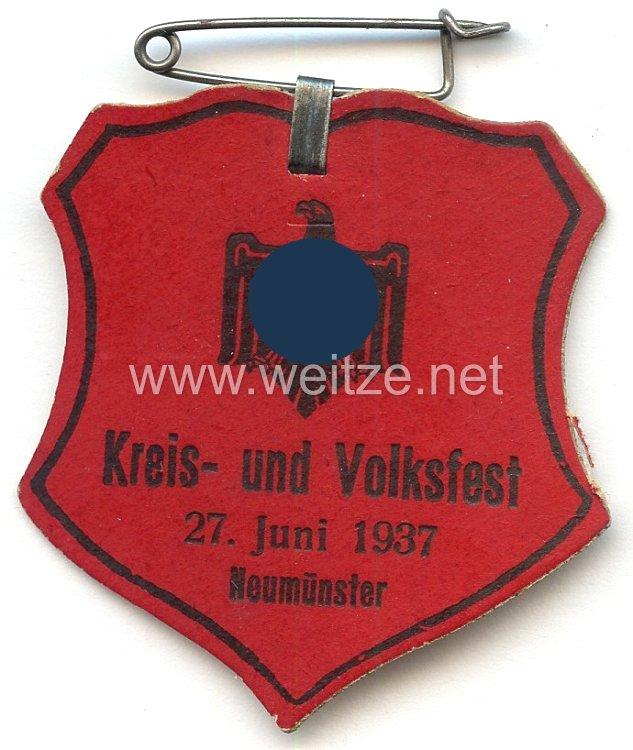 III. Reich - NSRL - Kreis- und Volksfest 27. Juni 1937 Neumünster