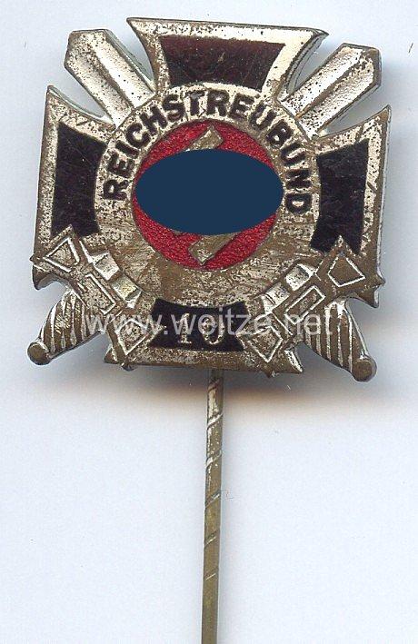 Reichstreubund ehemaliger Berufssoldaten ( RTB ) -Ehrennadel für 10 jährige Mitgliedschaft