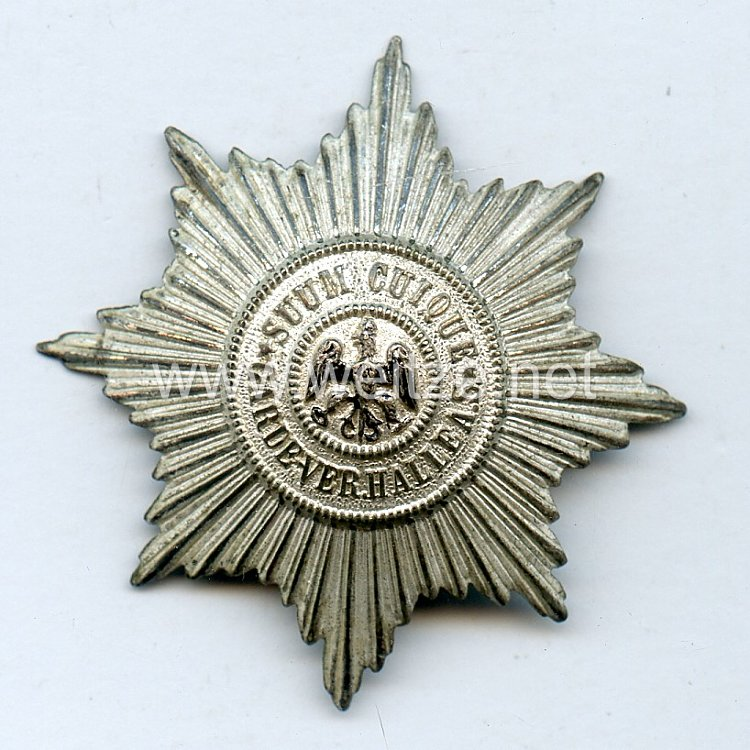 Preußen -Zivilabzeichen für ehemalige Angehörige der Preußischen Garde-Regimenter Garde-Verein Halle