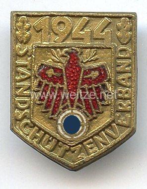 Standschützenverband Tirol-Vorarlberg -Gauleistungsabzeichen für Kombinationsschießen in Gold 1944