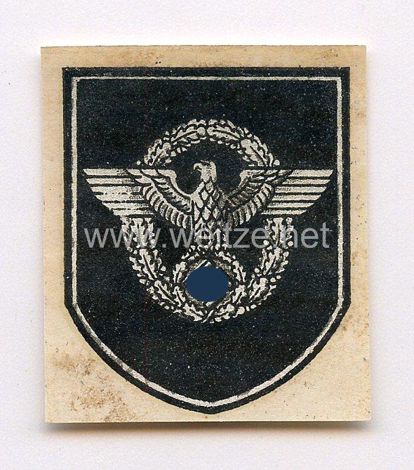 Polizei Adlerschild für Stahlhelme