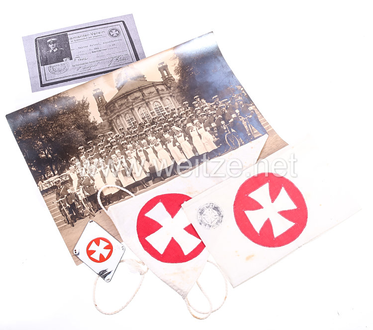 Weimarer Republik Rotes Kreuz: Nachlass eines Angehörigen des Samariter-Verein