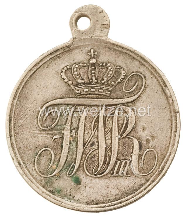 Preußen Krieger-Verdienstmedaille 1. Modell, russische Fertigung ab 1835.