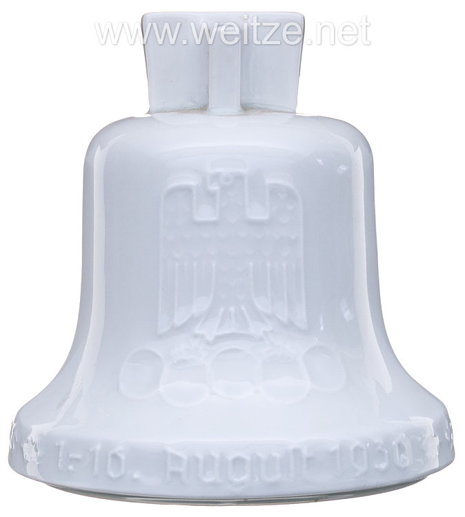 XI. Olympischen Spiele 1936 Berlin - Olympia-Glocke als Spardose