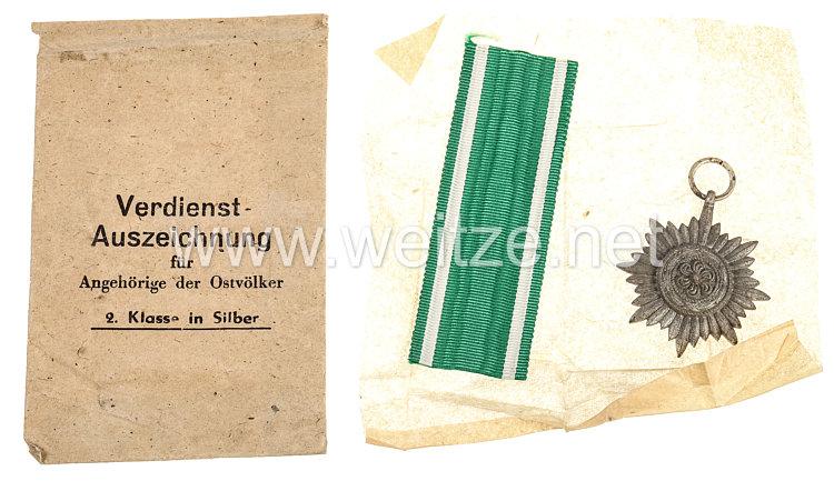 Verdienstauszeichnung für Ostvölker 2. Klasse in Silber