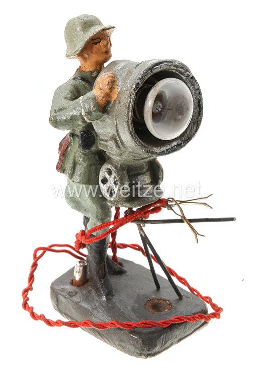 Elastolin - Heer Soldat mit elektrischem Blinkgerät