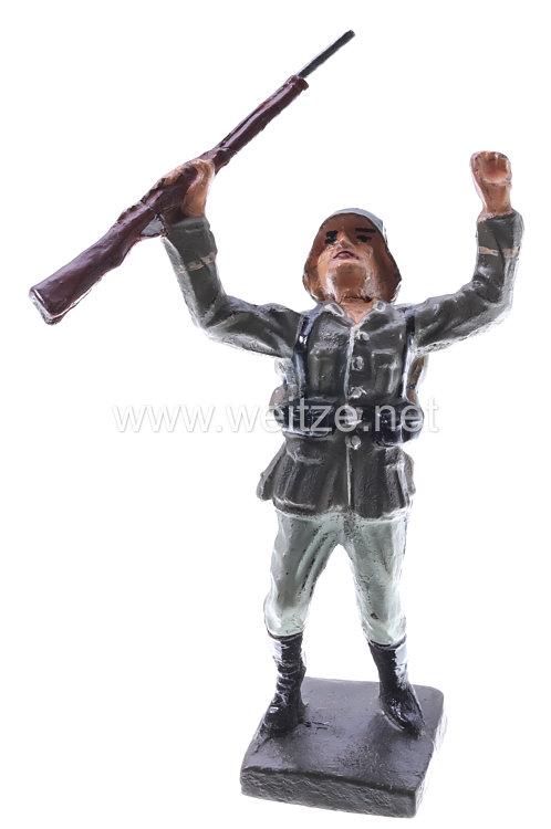 Lineol - Heer Soldat rückwärts fallend