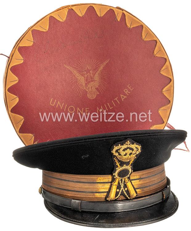 Königreich Italien Heer, Schirmmütze eines Offizier der Infanterie