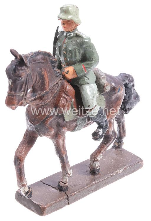 Lineol - Heer Offizier auf Schrittpferd