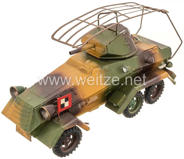 Blechspielzeug - Lineol Panzerspähwagen 1211