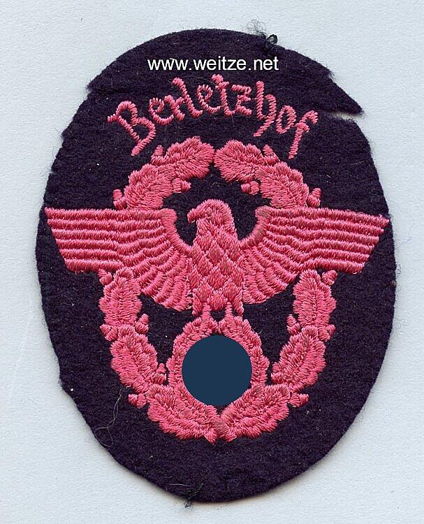 "III. Reich Feuerwehr Ärmeladler "" Berletzhof """