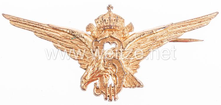"Bulgarien 2. Weltkrieg Luftwaffe Fliegerspange ""Adler"""