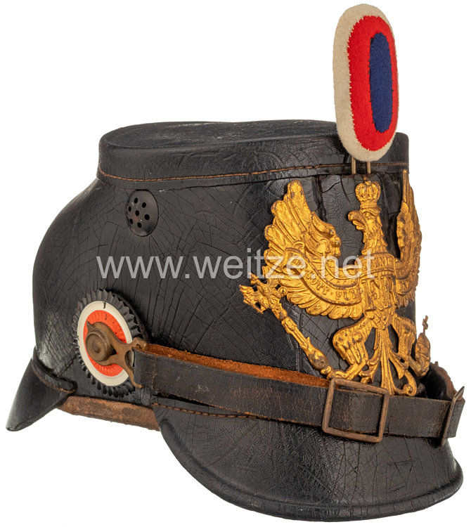 Preußen Tschako für Mannschaften im Westfälischen Jäger-Bataillon Nr. 7