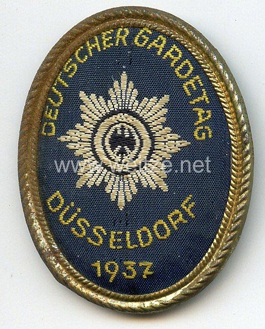 III. Reich - Deutscher Gardetag - Düsseldorf 1937