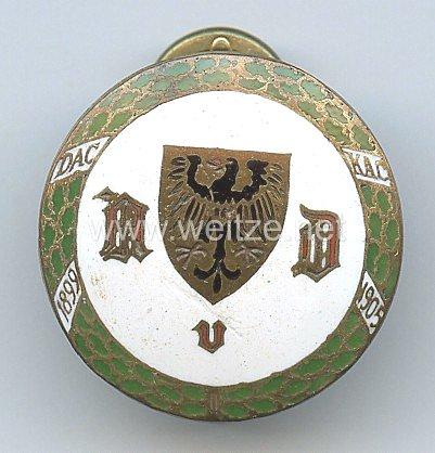 Automobilclub von Deutschland ( AvD ) -Mitgliedsabzeichen 2. Form
