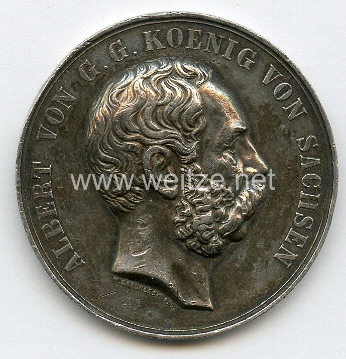 """Sachsen Königreich Nicht tragbare Medaille """"Dem besten Schützen"""""""