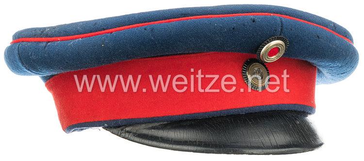Preußen Schirmmütze für einen Offizier der Reserve/ Landwehr-Infanterie