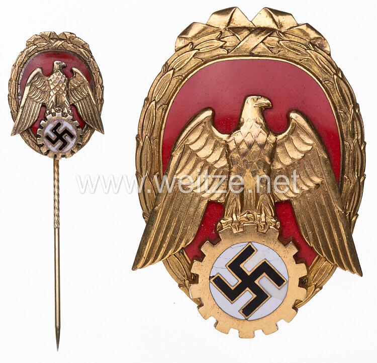 """III. Reich Ehrenzeichen """"Pionier der Arbeit"""" mit Miniatur"""