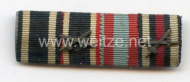 Bandspange für einen hessischen Veteranen des 1. Weltkriegs und späteren Wehrmachts-Angehörigen