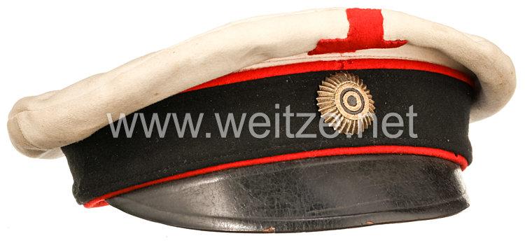 Zaristisches Russland 1. Weltkrieg/Russischer Bürgerkrieg Schirmmütze für Beamte des Roten Kreuzes