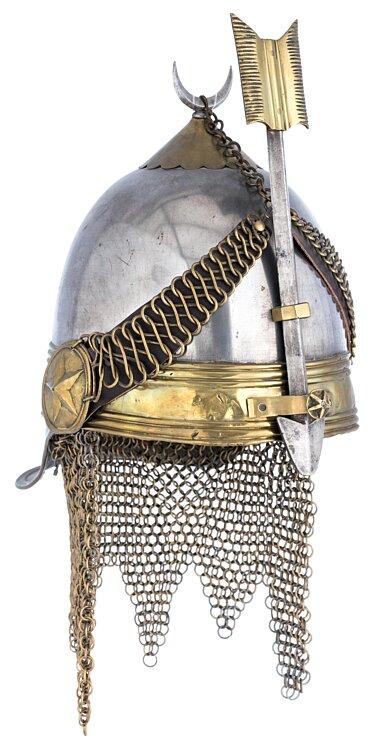 Osmanisches Reich/Türkei Helm der Khediven-Leibwache