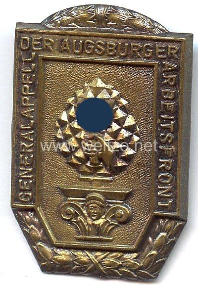 III. Reich - Generalappell der Augsburger Arbeitsfront