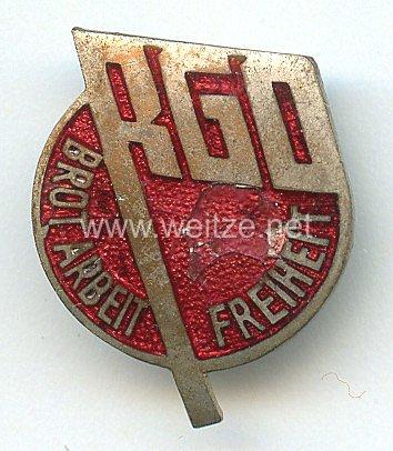 Sozialistische und Kommunistische Verbände - Revolutionäre Gewerkschaftsopposition ( RGO ) - Mitgliedsabzeichen