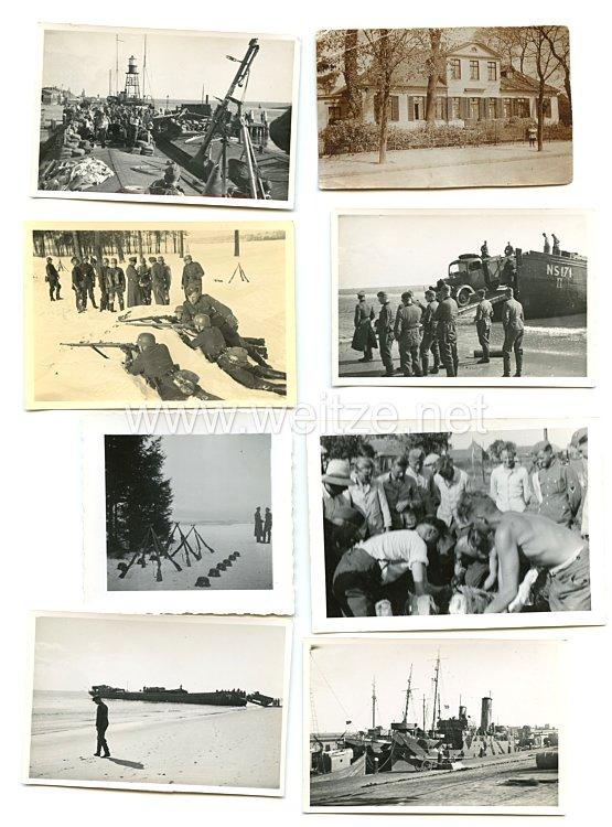 Waffen-SS Fotogruppe, Soldat im Grundwehrdienst und Einsatz in Frankreich 1940