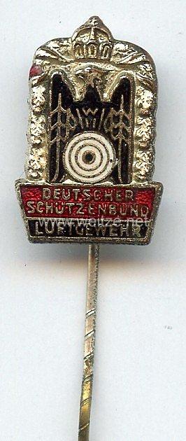 Deutscher Schützenbund ( DSB ) -Kleine Schießnadel in Silber