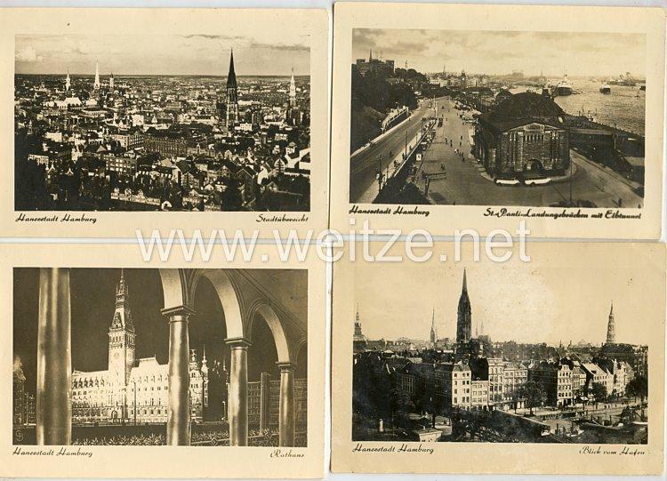Postkarten Gruppe, Hansestadt Hamburg