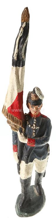Elastolin - 1. Weltkrieg Preussen Fahnenträger marschierend