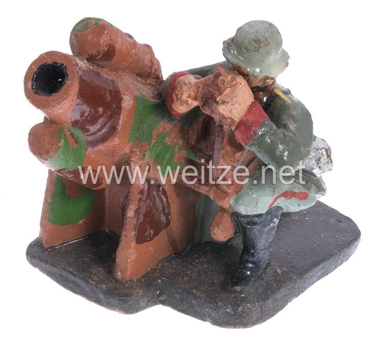 Elastolin - Heer Minenwerfergruppe ( Tarnanstrich )